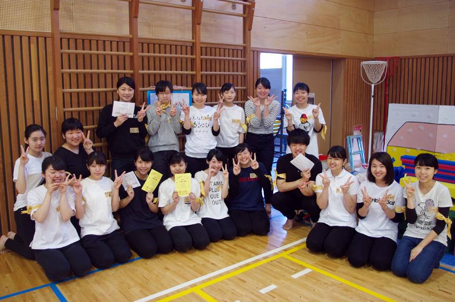 学生たちが付属園の運動会をサポート!