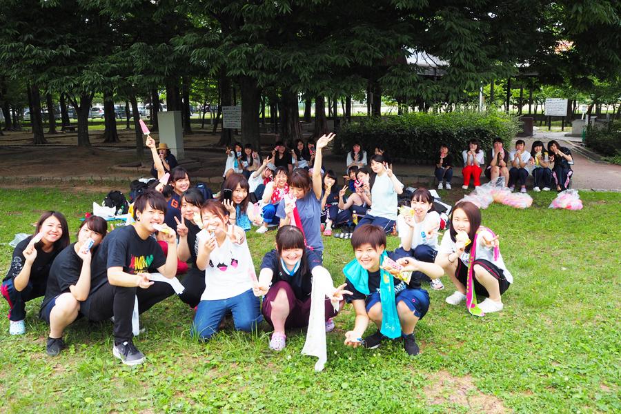 亀田公園で模擬保育!