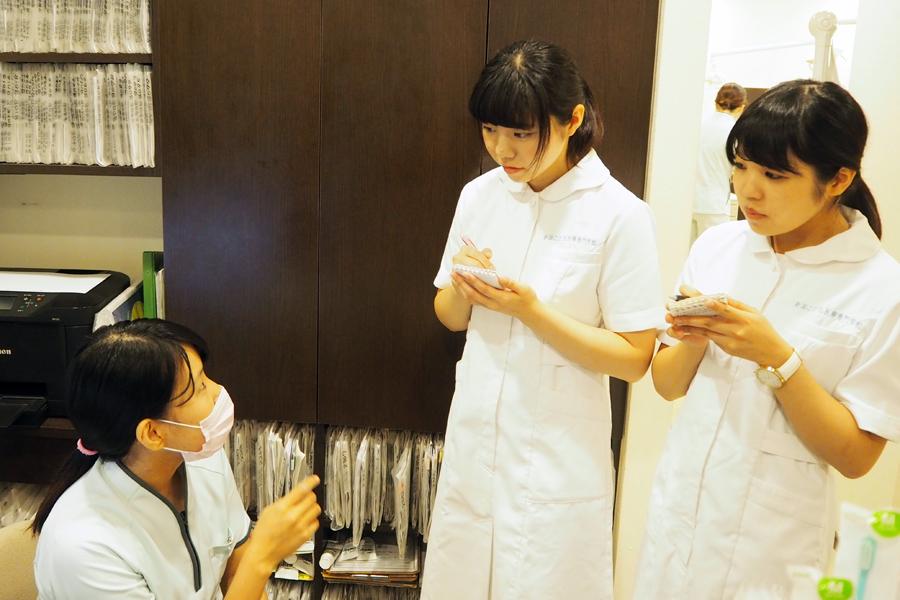 憧れの歯科アシスタントへの第一歩!