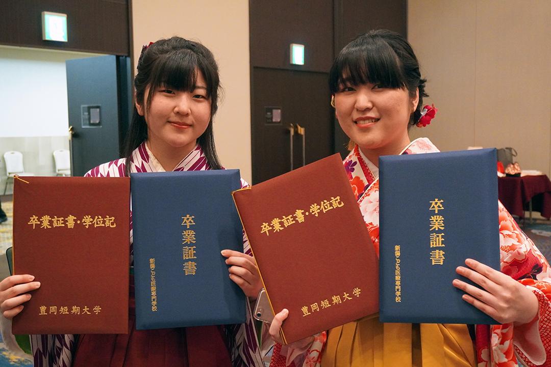 卒業式を行いました!